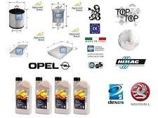 Kit Filtri Tagliando UFI Opel Corsa C 1.4 Twinport 66 Kw + 4 Litri Oil Opel 5W30