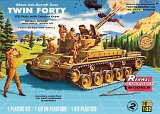Revell Monogram 1:32 M42 Twin Forty Tank And Crew Figures Model Kit