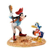 Dept 56 Halloween Snow Village Donald's Secret Treasure Disney 4025343 Goofy NEW