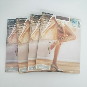 Worthington Pantyhose Sheer Caress Control Top Size Long Sandalfoot Suntan03 - P