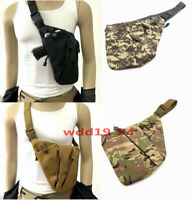 Mens Invisible Anti-theft Gun Holster Pouch Bag Pack Chest Sling Crossbody Bag