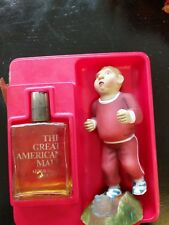 Vintage 1977 Giftique The Great American Male After Shave/Cologne