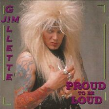 "NITRO Jim Gillette ""Proud To Be Loud"" factory CD Michael Angelo Batio Scream 80s"