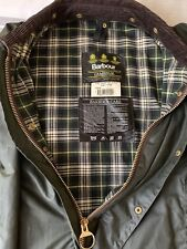 "New Genuine ""Barbour A123 Gamefair"" 6oz Medium Weight Waxed Jacket. (C46""/117cm)"
