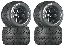 Duratrax DTXC3576 Mounted Bandito MT 3.8 Tire / Wheel (4) E-Revo Summit T-Maxx