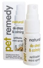 Dog Pet Remedy Natural De Stress & Calming Relief Mini Spray .5 oz 15 ml