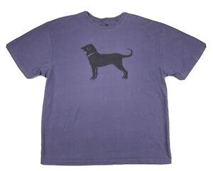 The Black Dog 2011 Martha's Vineyard T-Shirt Mens Size L Large Dark Purple