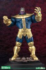 THANOS fine art statue~Kotobukiya~Infinity Gauntlet~War~Avengers~Iron Man~NIB
