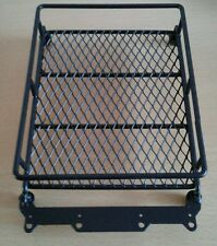 Black Metall Luggage Roof Rack RC AX For 1/10 Land Rover / D90 Dachgepäckträger