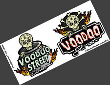 Hot Rod pegatinas 2 Ltd Edition en una hoja de Voodoo Calle ™
