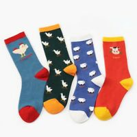 Animal Cute chick Unisex Stocking Funny Art Painting Cotton Socks Soft Hosiery