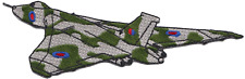 Royal Air Force RAF Hawker Siddeley Vulcan Shaped Embroidered Patch