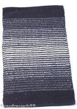 Tappetino Bagno Tappeto bagno Opaco Strisce nero bianco striscia 50 x 80 NEU