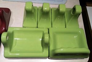"NOS Vintage Bathroom Fixtures in ""Fresh Green""! Extremely difficult to find!"