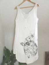 superbe robe de plage  100 % coton  taille L soit 42 / 44   parfait état