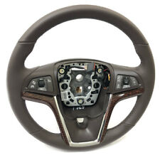 GM OEM Steering Wheel 13-15 Chevrolet Malibu 20966105 Cocoa w/ Collision Alert