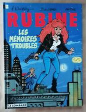 Rubine T 1 Les Mémoires Troubles WALTHERY, De LAZARE & MYTHIC éd Lombard EO