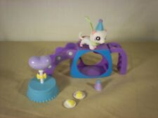 Littlest Pet Shop Ferrett with play set and birthday accessories LPS