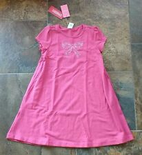 NWT Sz 7 2pc Gymboree CLASSROOM KITTY Pink Dress White Bow Leggings Limited Too