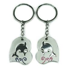 Dolphin Couple Key Chains