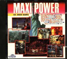 Maxi Power N.Y. Disco Giants - Communards/Tina Turner/Elton John Cd