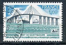 STAMP / TIMBRE FRANCE OBLITERE N° 1856 PONT DE SAINT NAZAIRE