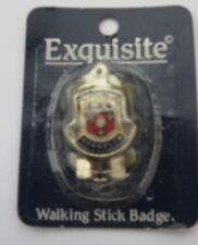 WALKING STICK BADGE / MOUNT / STOCKNAGEL EXQUISITE   SHANKLIN