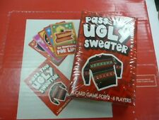 PASS THE UGLY SWEATER CARD GAME HOLIDAY PARTY FAVOR UGLY SWEATER PARTY CHRISTMAS