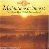 V/A - Meditations At Sunset (UK/USA 10 Tk CD Album) (Haydn/Elgar/Bach etc)