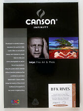 Canson Infinity BFK Rives A3+ x 25 - 310gsm Fine Art Inkjet Paper