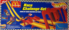 "HOT WHEELS ""MCDONALD'S"" RACE CHALLENGE SET-HARD TO FIND-1996--NEW IN BOX"