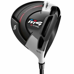 Left Handed TaylorMade M4 D-Type 10.5* Driver Senior Graphite Very Good