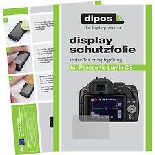 6x dipos Panasonic Lumix DMC G5 matte Displayschutzfolie Antireflex Testsieger