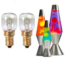2 x 25w Lava lamp Pygmy Replacement Bulbs SES Small Edison Screw 300° Tolerance