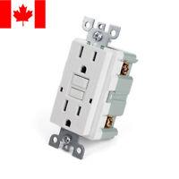 Tamper Resistant GFCI Receptacle Outlet  15 Amp 125 Volt, auto-test function, UL