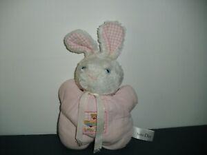 L1/ doudou lapin pouet  rose Baby Dior