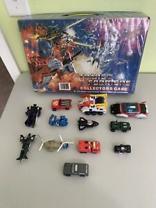 Transformers Go Bot Lot Vehicles Cars Motorcycle Huge Lot Vintage