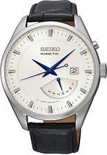 Seiko Analog Casual Watch Kinetic Black Mens SRN071P1