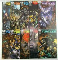Teenage Mutant Ninja Turtles #30-39 Cover B 2011 Series IDW Comic Book Lot Set