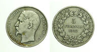 pcc1678) FRANCIA - LUIGI NAPOLEONE -  5 FRANCHI 1852  A Paris