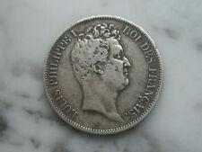 5 francs en argent 1831 W France Louis Philippe 1er ecu Lille