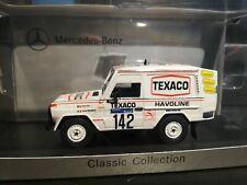 MERCEDES BENZ - 280GE WINNER RALLY PARIS DAKAR 1983 - SPARK-MODEL (029)