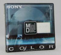 Sony Color Collection MiniDisc MD 74 Neuf (Réf#E-905)