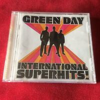 GREEN DAY cd INTERNATIONAL SUPERHITS! Billie Joe Armstrong Punk Rancid Nofx