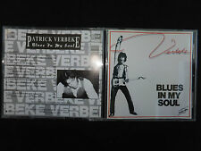 RARE CD PATRICK VERBEKE / BLUES IN MY SOUL /