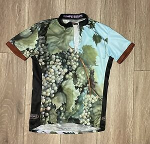 PRIMAL WEAR Women's Large L cycling Jersey GRAPE ESCAPE Wine Short Sleeve Shirt