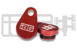 IAG Performance AVCS Plugs (Pair) Red for Subaru 02-05 WRX