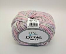 CLEARANCE: 10 x Online Omera Poly-Wool Blend Novelty Yarn #8 - Iridescent