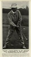 Walter J. Travis Amateur Golf Championship Great Britain England 1904 old print