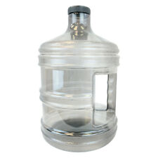 BPA Free 1 Gallon Plastic Water Bottle Container Drinking Canteen Jug 128 oz